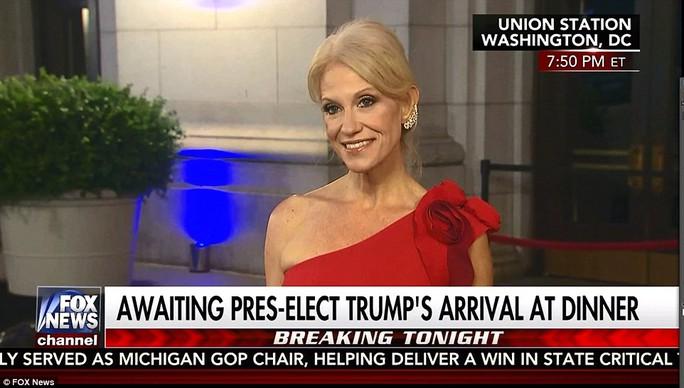 Bà Kellyanne Conway. Ảnh: Fox News