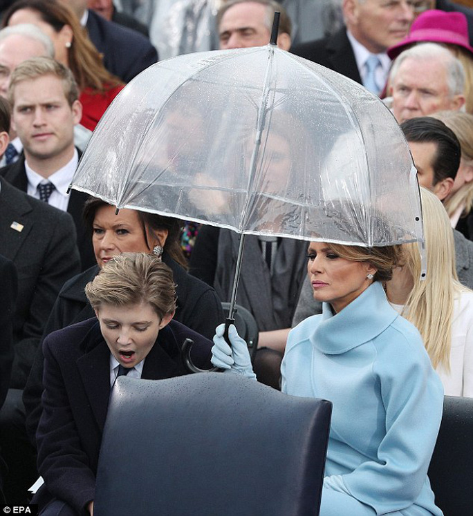 Đệ nhất phu nhân Melania Trump... Ảnh: EPA