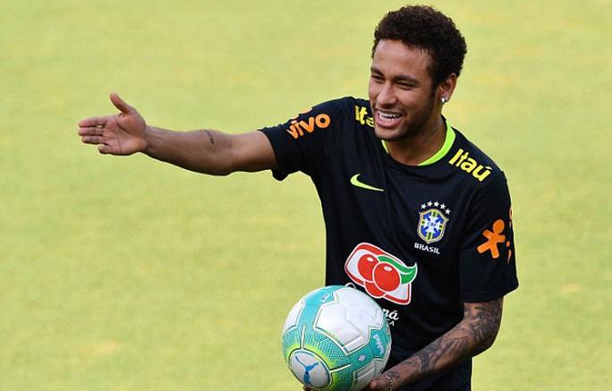 Neymar có phong độ tốt khi tập trung cùng Brazil