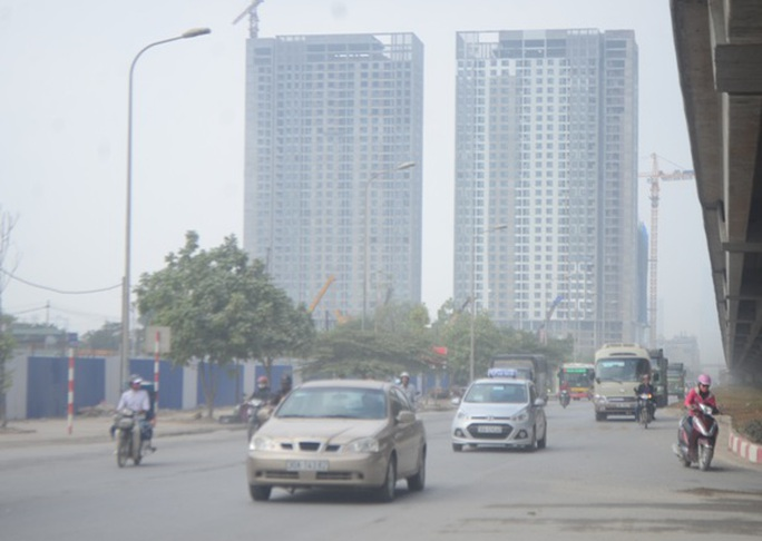 Năm 2016, Hà Nội có 282 ngày ô nhiễm không khí - Ảnh: Nguyễn Hưởng