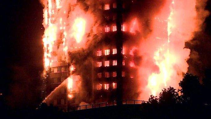 Đám cháy kinh hoàng nuốt chửng tòa nhà 27 tầng ở London - Ảnh 3.