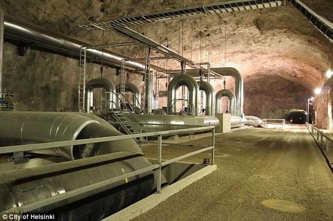 Đề phòng Nga, Phần Lan nâng cấp đường hầm bên dưới thủ đô - Ảnh 2.