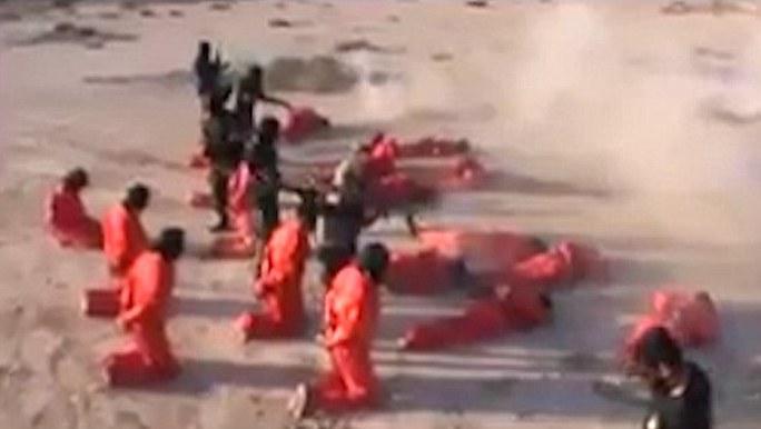Tay súng IS bị hành quyết tập thể ở Libya - Ảnh 4.