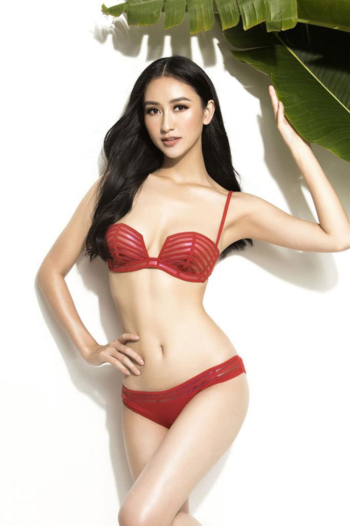 Hà Thu đứng đầu tốp 10 sáng giá ngôi vị Hoa hậu Trái đất - Ảnh 2.