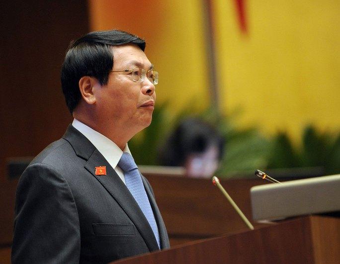 Ông Vũ Huy Hoàng lúc còn là bộ trưởng Bộ Công Thương Ảnh: NGỌC THẮNG