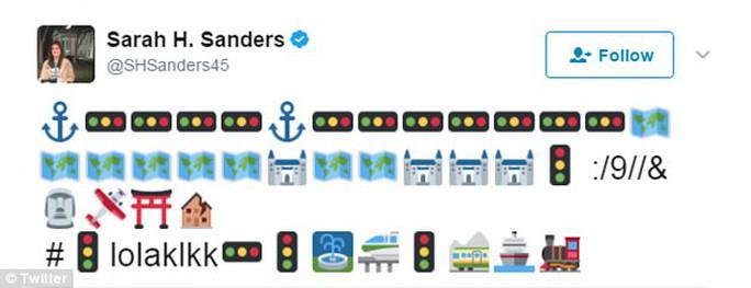 Bé 3 tuổi cập nhật Twitter cho Phó Thư ký báo chí Nhà Trắng - Ảnh 1.
