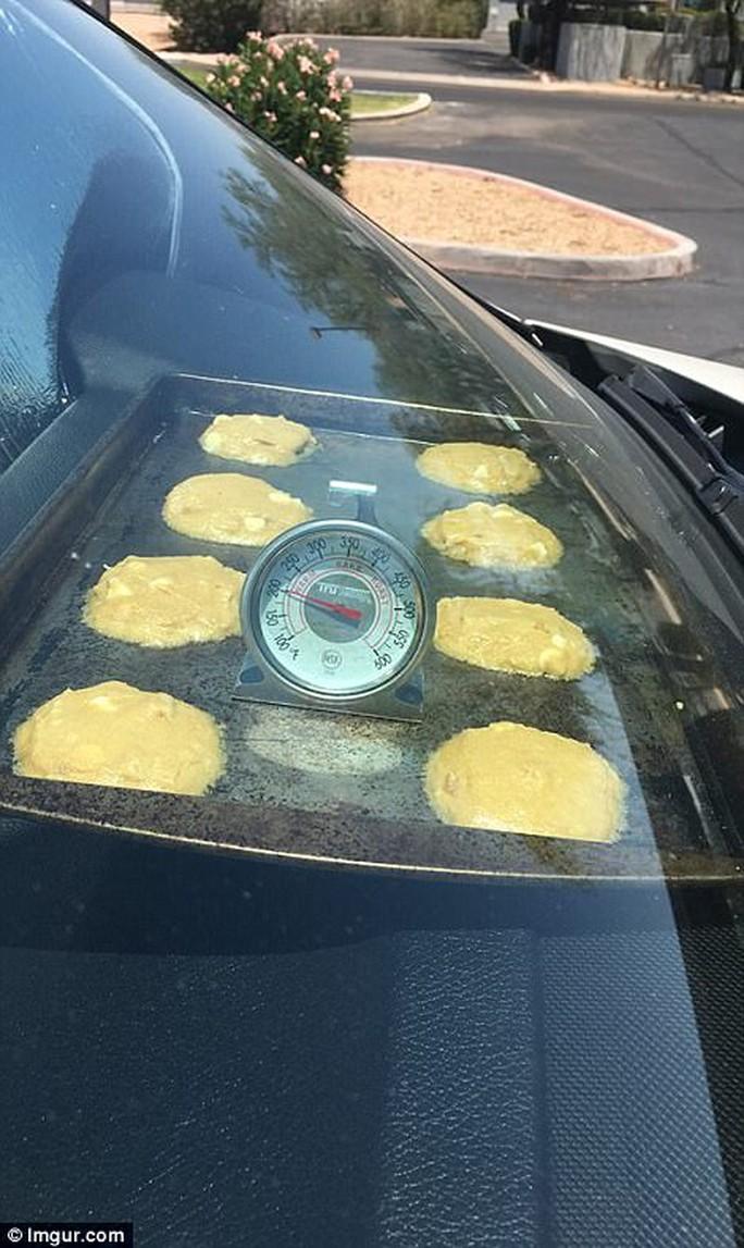 Mỹ: Nắng nóng tới mức nướng chín bánh trên ô tô - Ảnh 4.