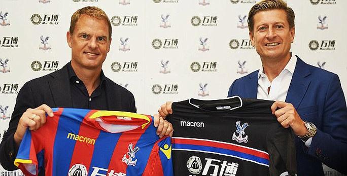 Crystal Palace chọn Frank de Boer làm HLV trưởng - Ảnh 1.