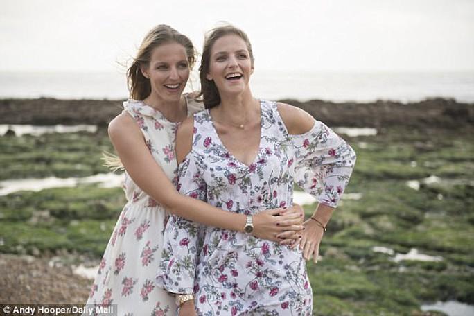 Chị em song sinh xinh đẹp ở Wimbledon 2017 - Ảnh 3.