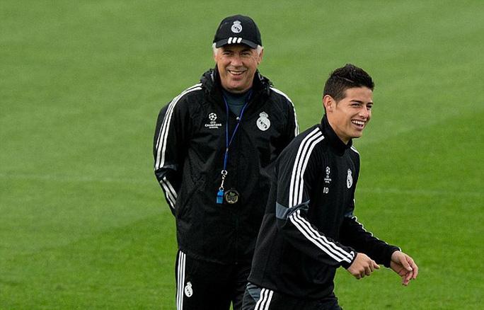 James Rodriguez rời Real Madrid - Ảnh 2.