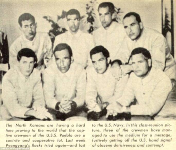 Bên trong tàu Hải quân Mỹ bị Triều Tiên bắt giữ 50 năm trước - Ảnh 3.