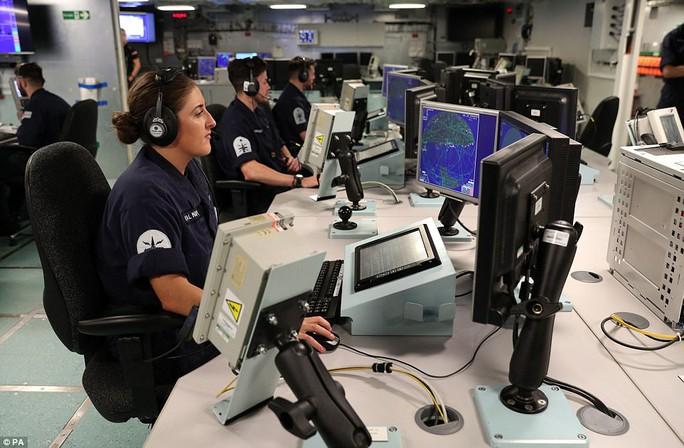 Cận cảnh chiến hạm lớn nhất của Hải quân Anh - Ảnh 11.