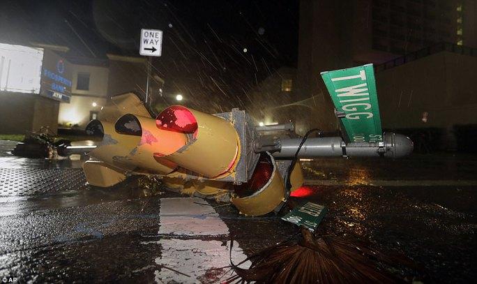 Cận cảnh đổ nát tại bang Texas sau siêu bão Harvey  - Ảnh 8.