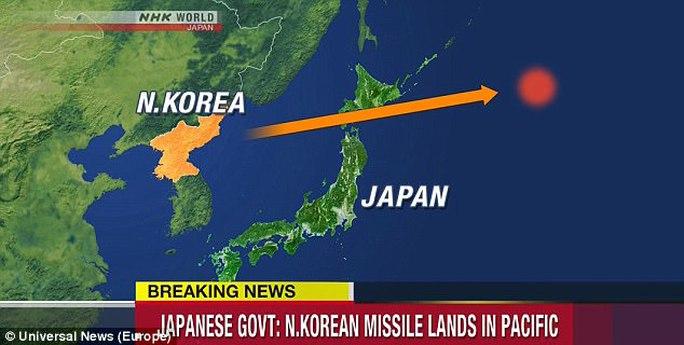 Triều Tiên phóng tên lửa bay qua Nhật Bản - Ảnh 2.