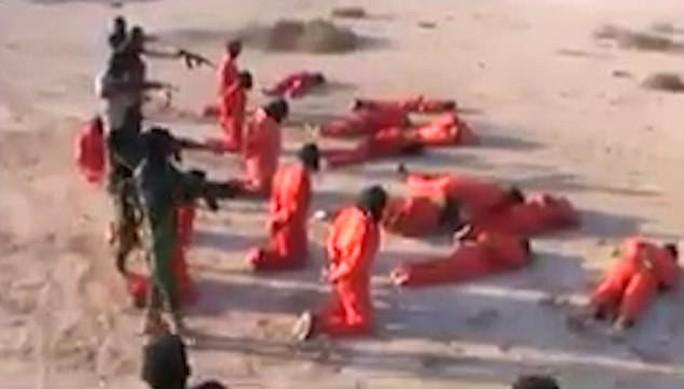 Tay súng IS bị hành quyết tập thể ở Libya - Ảnh 3.