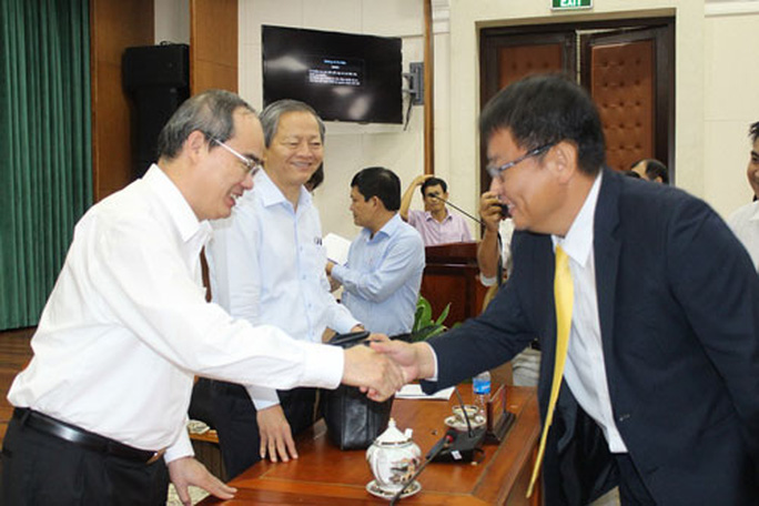 Doanh nghiệp chung sức phát triển TP HCM - Ảnh 1.