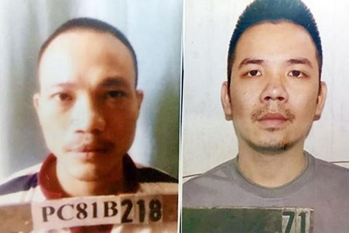 Truy nã 2 tử tù trốn khỏi phòng biệt giam - Ảnh 1.