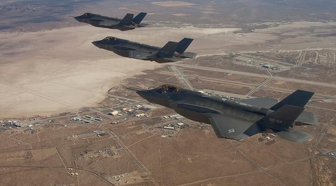 Máy bay chiến đấu F-35 của Mỹ. Ảnh: Reuters