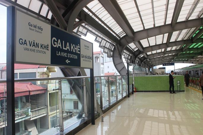 Háo hức mục sở thị tàu đường sắt Cát Linh - Hà Đông - Ảnh 10.