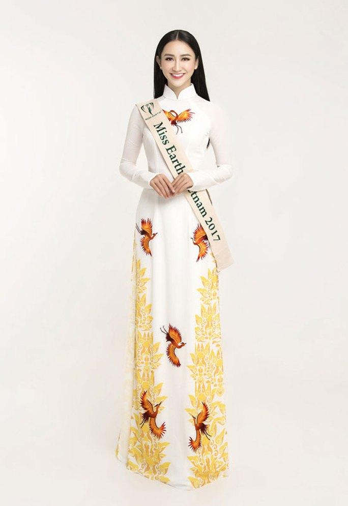 Hà Thu đứng đầu tốp 10 sáng giá ngôi vị Hoa hậu Trái đất - Ảnh 6.