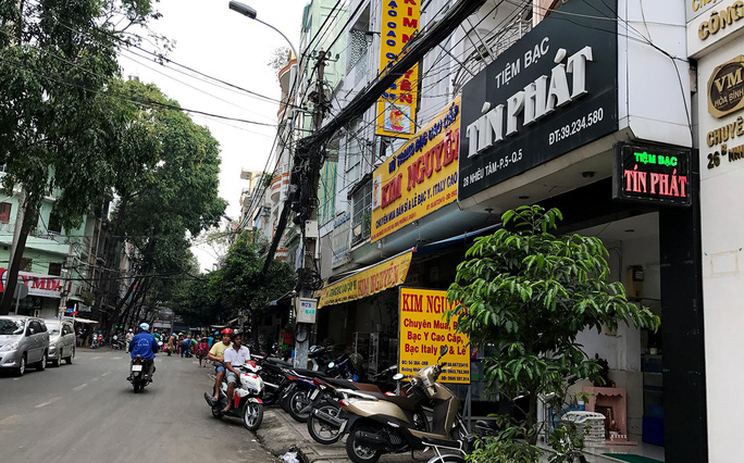 Tuyến đường Nhiêu Tâm, phường 5, quận 5, TP HCM