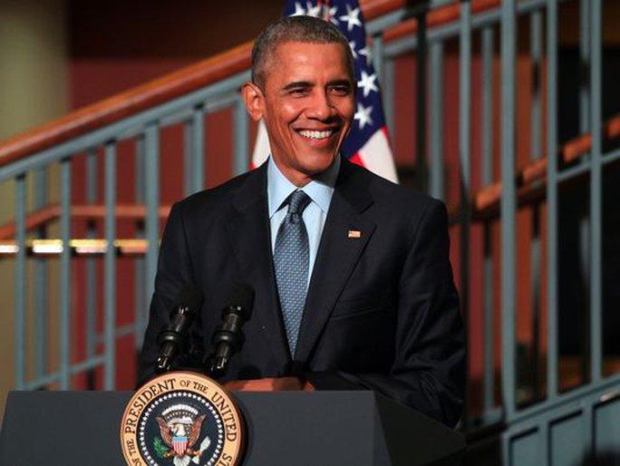 Cựu Tổng thống Mỹ Barack Obama sẽ phát biểu tại trường ĐH Chicago vào ngày 24-4. Ảnh: Reuters