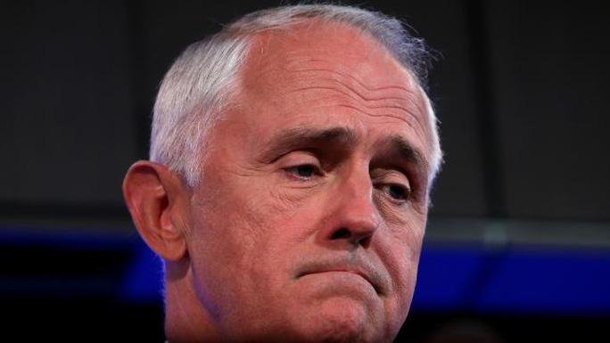 Thủ tướng Úc Malcolm Turnbull bị Tổng thống Mỹ Donald Trump bất ngờ cắt ngang cuộc gọi. Ảnh: Kym Smith