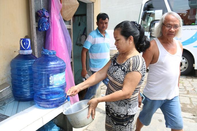 Hội An lao đao vì cúp nước - Ảnh 1.