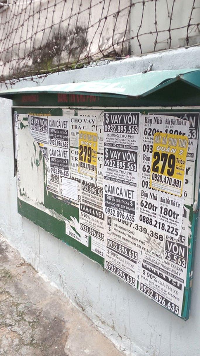 Bảng thông tin khu phố thành nơi quảng cáo - Ảnh 1.