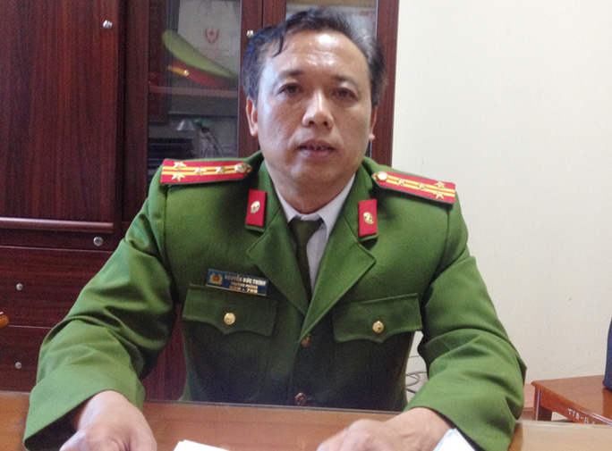Đại tá Nguyễn Đức Thính - Ảnh: CAND