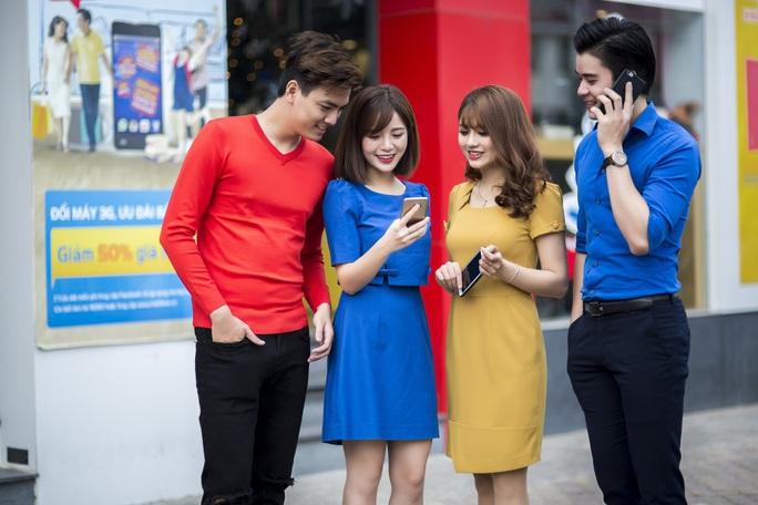 Năm nay việc sử dụng mạng 3G đã tốt hơn so với các năm trước đây. Ảnh: Chánh Trung.