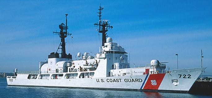 Tàu tuần tra USCGC Morgenthau của Tuần duyên Mỹ. Ảnh: USCG