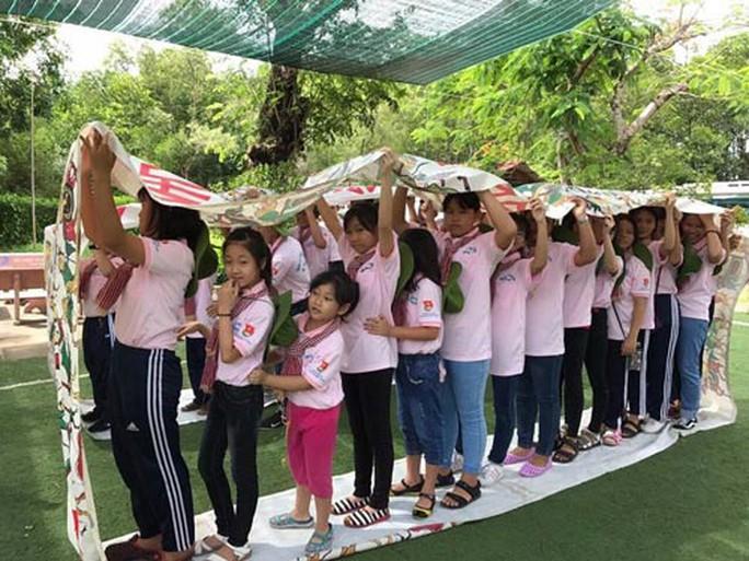 Tổ chức trại hè cho con công nhân - Ảnh 1.