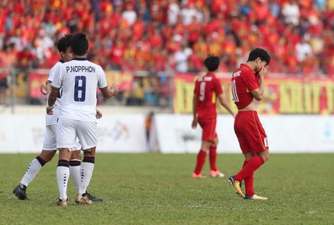 U22 Việt Nam - Thái Lan 0-3: Dừng chân SEA Games, HLV Hữu Thắng từ chức - Ảnh 3.