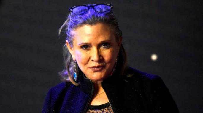 Công chúa Leia Carrie Fisher chết vì ngưng thở khi ngủ - Ảnh 1.