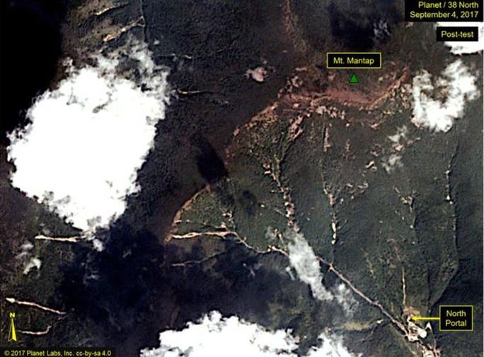 Triều Tiên: Vụ thử hạt nhân gây sạt lở đất - Ảnh 4.