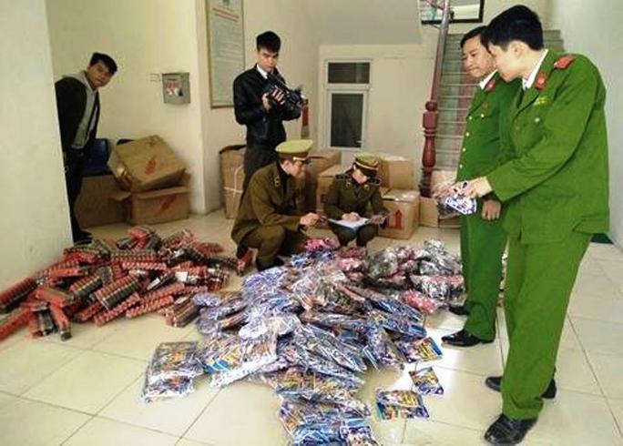 Số hàng hóa đồ chơi bạo lực bị lực lượng chức năng tỉnh Thanh Hóa bắt giữ