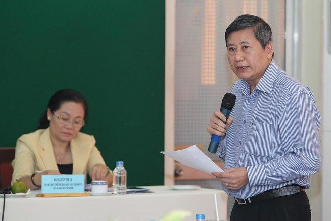 Ông Trần Thanh Hải, Phó Chủ tịch Thường trực Tổng LĐLĐ Việt Nam, phát biểu tại buổi làm việc