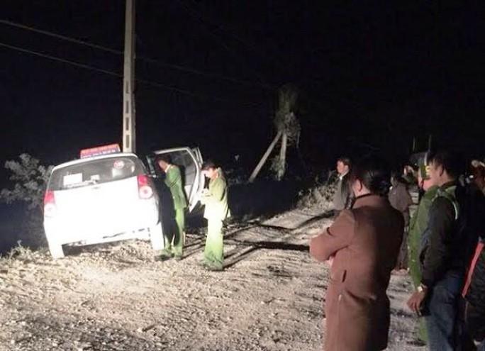 Hiện trường vụ cướp taxi trong đêm bất thành ở Ninh Bình