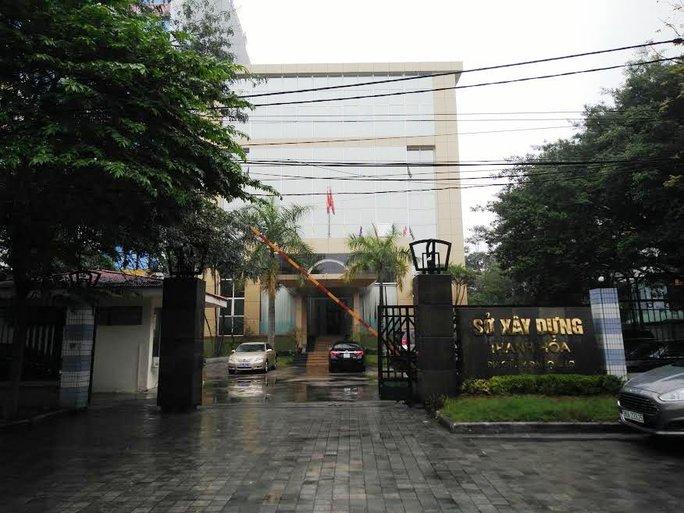 Sở Xây dựng Thanh Hóa - nơi bà Trần Vũ Quỳnh Anh đang công tác