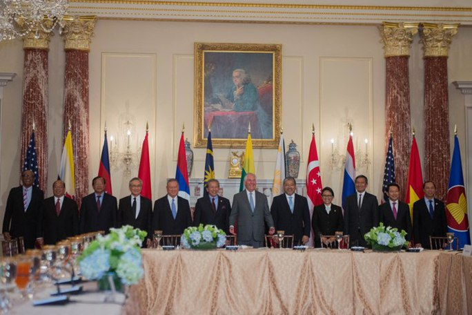 Ngoại trưởng Mỹ-ASEAN bàn về Biển Đông tại Washington - Ảnh 1.