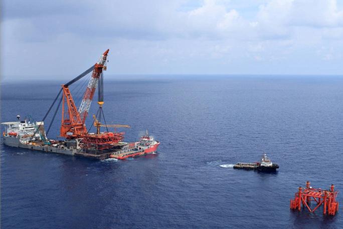 Người phát ngôn nói về hợp tác thăm dò dầu khí với Repsol - Ảnh 1.