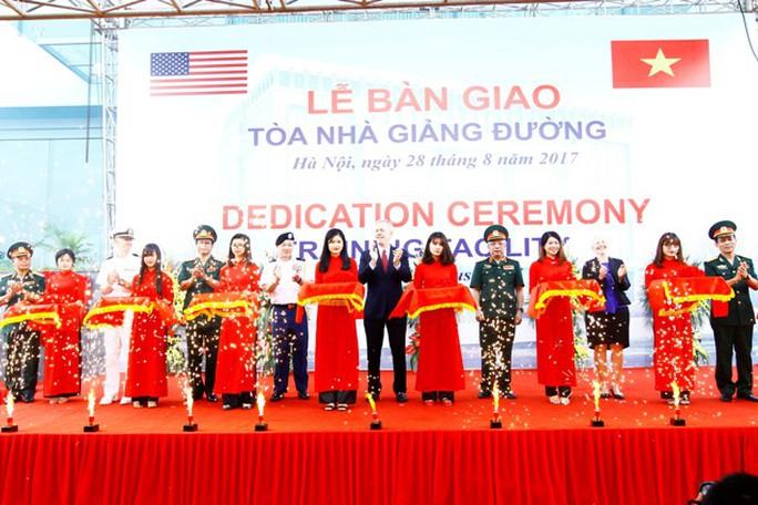 Mỹ tài trợ 10 triệu USD cho lực lượng Gìn giữ hòa bình Việt Nam - Ảnh 1.