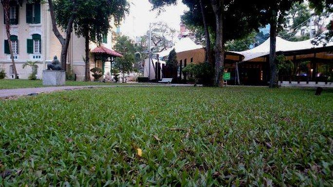 Khu vườn bí mật trong Đại sứ quán Pháp ở Hà Nội - Ảnh 14.