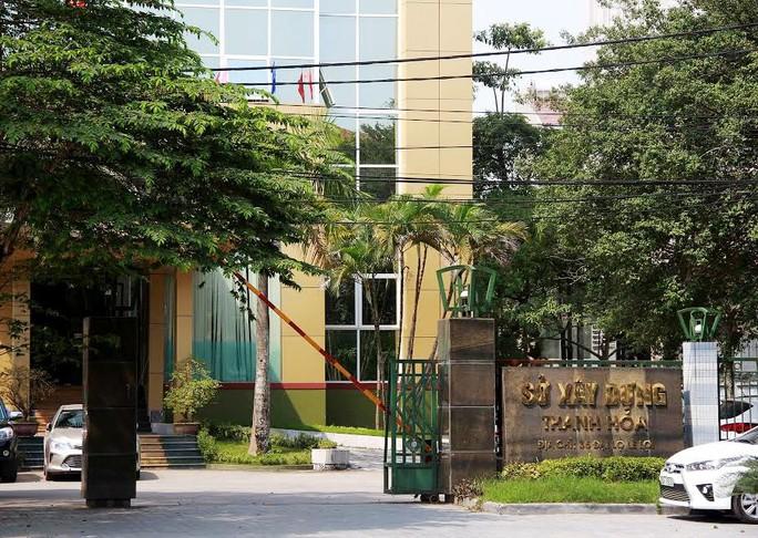 Sở Xây dựng Thanh Hóa, nơi bà Trần Vũ Quỳnh Anh công tác trước khi nghỉ việc ngày 23-9-2016