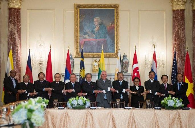 Ngoại trưởng Mỹ-ASEAN bàn về Biển Đông tại Washington - Ảnh 2.