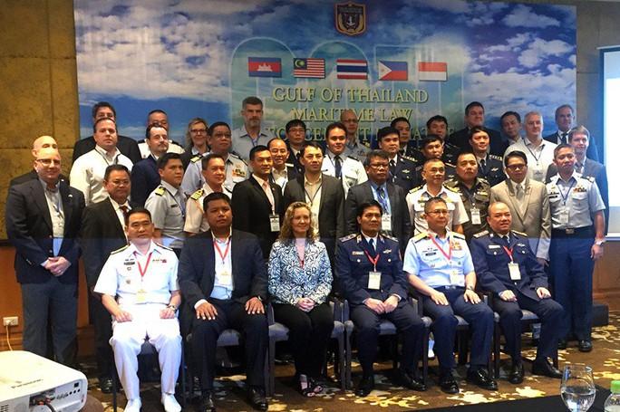 Cảnh sát biển 3 nước bàn về xử lý thách thức an ninh biển - Ảnh 2.
