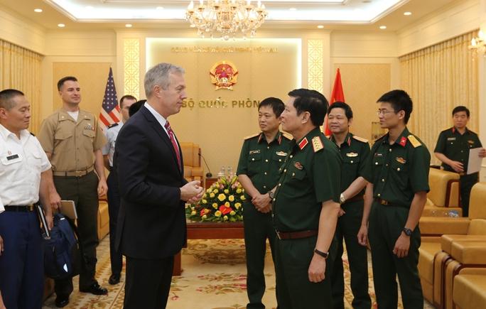 Bộ trưởng Quốc phòng Ngô Xuân Lịch lần đầu thăm Mỹ - Ảnh 1.
