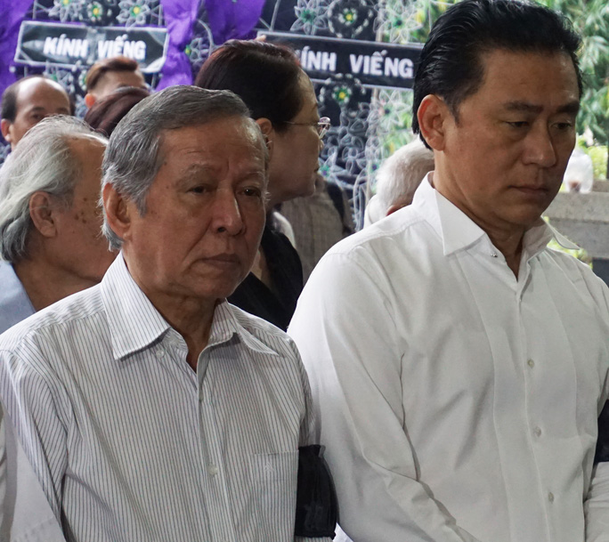 Nhạc sĩ Trần Long Ẩn và NSƯT Tạ Minh Tâm
