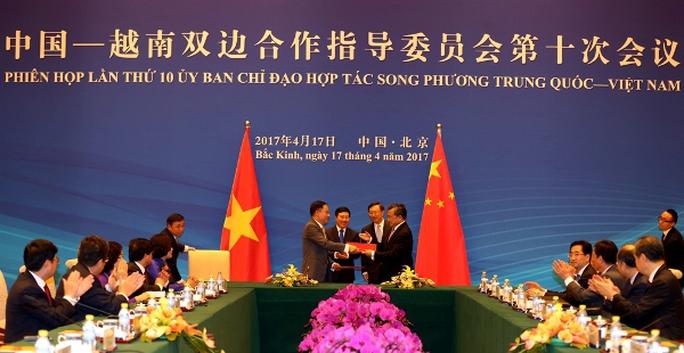 Phiên họp lần thứ 10 Ủy ban chỉ đạo hợp tác song phương Việt Nam-Trung Quốc